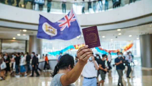 U.K. Says China Could Stop Hong Kong Citizens from Leaving - BNN Bloomberg