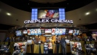 A customer buys concessions inside a Cineplex Cinemas movie theater in Toronto, Ontario, Canada on Monday, Feb. 3, 2020. Britain's Cineworld Group Plc is on track to become North America's biggest operator of movie theaters with its plan to buy Canada's Cineplex Inc. for C$2.15 billion ($1.64 billion). Photographer: Cole Burston/Bloomberg