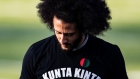 GETTY IMAGES - Colin Kaepernick during his NFL workout held at Chin Riverdale, Georgia in 2019.