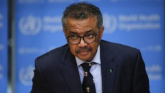 Tedros Adhanom Ghebreyesus in Switzerland on Feb. 18. Bloomberg