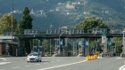 A vehicle exits a toll booth on the A12 Highway operated by Autostrade near Genoa, Italy. Photographer: Federico Bernini/Bloomberg