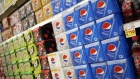 Cases of PepsiCo Inc. Pepsi brand beverages are displayed for sale at a grocery store in Louisville, Kentucky, U.S., on Tuesday, Sept. 24, 2019. PepsiCo Inc. is scheduled to release earnings figures on October 3. Photographer: Luke Sharrett/Bloomberg
