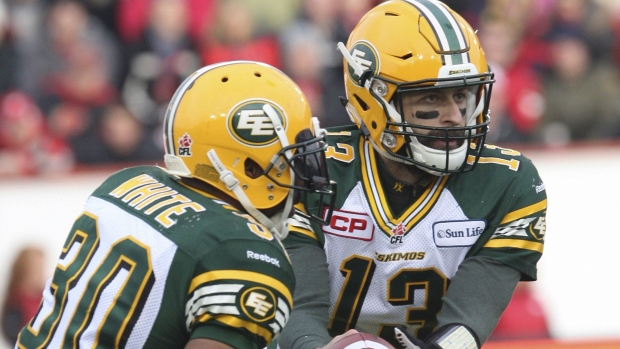 Edmonton's CFL football team to discontinue use of 'Eskimos' nickname