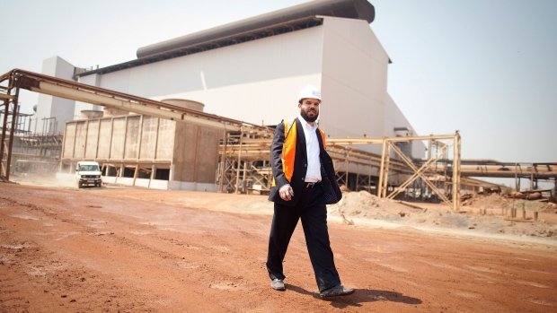 Dan Gertler at the Mutanda copper and cobalt mine in the Democratic Republic of Congo in August 2012. Photographer: Simon Dawson/Bloomberg