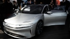 A Lucid Motors Air alpha prototype Photographer: Mark Kauzlarich/Bloomberg