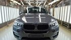 The BMW AG X5 Advanced Diesel sport-utility vehicle stands on the production line at a PT Gaya Motor assembly plant in Jakarta on April 10.