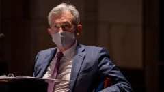 Federal Reserve Chair Jerome H. Powell testifies before the House Financial Services Committee on Capitol Hill on June 30, 2020 in Washington, DC. Federal Reserve Chairman Powell and Treasury Secretary Steven Mnuchin testified on their agencies' response to the coronavirus pandemic.