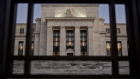 The Marriner S. Eccles Federal Reserve building stands in Washington, D.C., U.S., on Friday, Nov. 18, 2016. Federal Reserve Chair Janet Yellen told lawmakers on Thursday that she intends to stay in the job until her term expires in January 2018 while extolling the virtues of the Fed\'s independence from political interference. Photographer: Andrew Harrer/Bloomberg