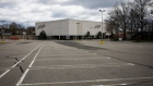 The parking lot of a Lord & Taylor is seen empty in Paramus, New Jersey.