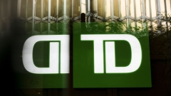 Toronto-Dominion (TD) Canada Trust signage is reflected on a building in the financial district of Toronto, Ontario, Canada, on Thursday, July 25, 2019. Canadian stocks fell as tech heavyweight Shopify Inc. weighed on the benchmark and investors continued to flee pot companies. Photographer: Brent Lewin/Bloomberg