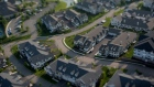 Homes stand in this aerial photograph taken with a tilt-shift lens above New Jersey, U.S. Photographer: Craig Warga/Bloomberg