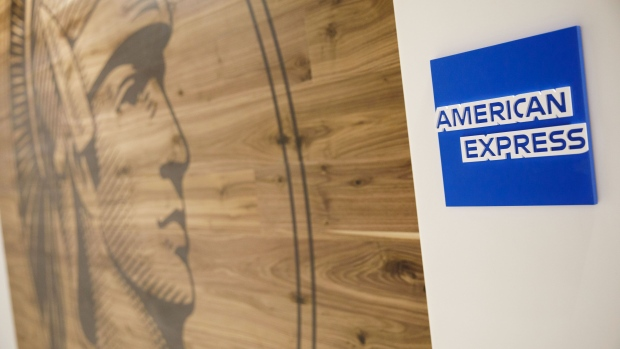 Signage is displayed inside the American Express Co. Centurion Lounge during a media preview event at Los Angeles International Airport (LAX) in Los Angeles, California, U.S., on Thursday, March 5, 2020.