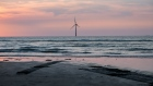 An offshore wind turbine stands in Miaoli County, Taiwan. Photographer: Billy H.C. Kwok/Bloomberg