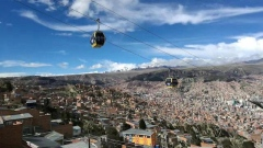 MARKET ONE - La Paz, Bolivia's capital, is the highest elevation capital city in the world.