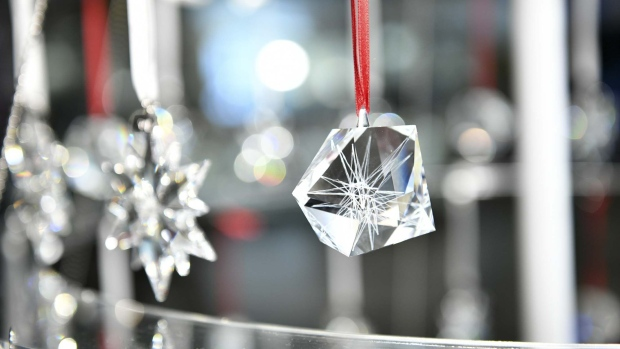 A view of the new 2018 Atelier Swarovski Home Ornaments by Daniel Libeskind. Photographer: Bryan Bedder/Getty Images North America
