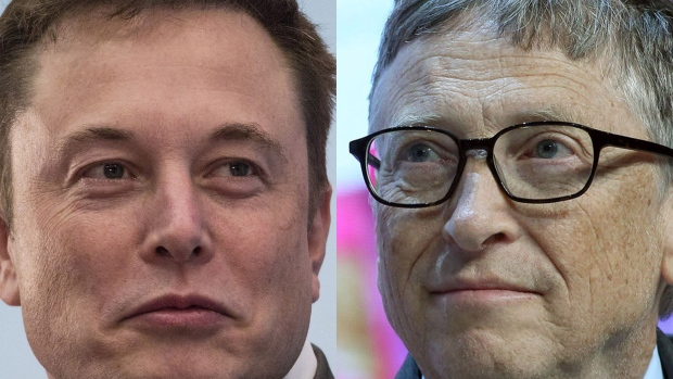 Elon Musk and Bill Gates Source: Bloomberg/Bloomberg
