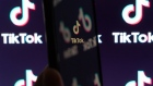 "The logo for ByteDance Ltd.'s TikTok app is displayed on a smartphone in an arranged photograph in Beijing, China, on Wednesday, Sept. 2, 2020. U.S. President Donald Trump said he's told people involved in the sale of the U.S. assets of ByteDance's TikTok that the deal must be struck by Sept. 15 and the federal government must be ""well compensated,"" or the service will be shut down. Photographer: Yan Cong/Bloomberg"