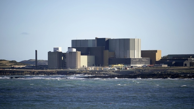 the Wylfa Nuclear Power Station in Bangor, Wales.