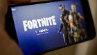 The Epic Games Fortnite: Battle Royale video game on a mobile device. Photographer: Andrew Harrer/Bloomberg