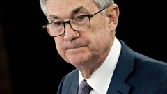 Jerome Powell, chairman of the U.S. Federal Reserve, pauses while speaking during a news conference in Washington, D.C., U.S., on Tuesday, March 3, 2020. The U.S. Federal Reserve delivered an emergency half-percentage point interest rate cut today in a bid to protect the longest-ever economic expansion from the spreading coronavirus. Photographer: Andrew Harrer/Bloomberg