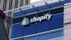 Signage is displayed on the Shopify Inc. headquarters in Ottawa. Photographer: David Kawai/Bloomberg
