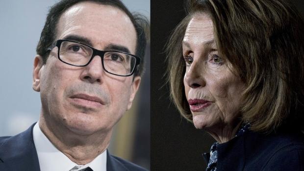 Congress and Trump White House hint at coronavirus aid deal
