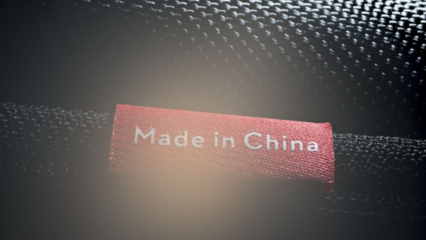 "The words ""Made In China"" are seen on an object displayed for a photograph in Tiskilwa, Illinois, U.S., on Tuesday, April 10, 2018. A week after escalating tensions with his threat to impose tariffs on an additional $100 billion in Chinese products, President Trump said Thursday the two countries ultimately may end up levying no new tariffs on each other. Photographer: Daniel Acker/Bloomberg"