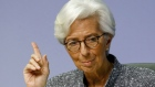 "Christine Lagarde, president of the European Central Bank (ECB), gestures during the central bank's rate decision news conference in Frankfurt, Germany, on Thursday, March 12, 2020. Lagarde urged governments to stop dithering in their economic response to the coronavirus as she warned that the outbreak already constitutes a ""major shock"" to global growth prospects."