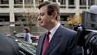 Paul Manafort, former campaign manager for Donald Trump, walks to his vehicle outside the U.S. Courthouse after a bond hearing in Washington, D.C., U.S., on Monday, Nov. 6, 2017.
