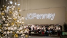 Christmas decorations are displayed near the entrance to a J.C. Penney store inside the Westfield Mall in Culver City, California, U.S., on Friday, Nov. 16, 2018. Third-quarter reports from department stores gave investors reason to sell retail stocks. Some on Wall Street are starting to raise caution about the fourth quarter as well, particularly given the year-to-date strength of the group. Photographer: Martina Albertazzi/Bloomberg