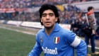 UNSPECIFIED,ITALY: 1987-88 Diego Armando Maradona of SSC Napoli looks on during the Seria A Italy. (Photo by Alessandro Sabattini/Getty Images)