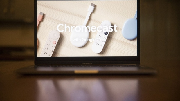 The Chromecast TV devices are unveiled during the Google Launch Night In virtual event.