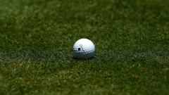 PONTE VEDRA BEACH, FL - MAY 10: A golf ball is seen on the grass during the first round of THE PLAYERS Championship held at THE PLAYERS Stadium course at TPC Sawgrass on May 10, 2012 in Ponte Vedra Beach, Florida. (Photo by Mike Ehrmann/Getty Images) Photographer: Mike Ehrmann/Getty Images North America