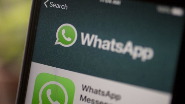 WhatsApp Photographer: Andrew Harrer/Bloomberg