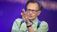 TRONDHEIM, NORWAY - JUNE 21: Larry King participates on a discussion on fake news in the media during the Starmus Festival on June 21, 2017 in Trondheim, Norway. (Photo by Michael Campanella/Getty Images)