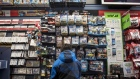 A customer browses merchandise at a GameStop store in Chicago. Photographer: Christopher Dilts/Bloomberg