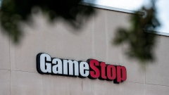 Signage on a GameStop store in Richmond, California, U.S., on Wednesday, Jan. 27, 2021. GameStop Corp.'s breathtaking ascent showed no sign of slowing Wednesday, with bullish day traders keeping the upper hand over short sellers who started to capitulate. Photographer: David Paul Morris/Bloomberg