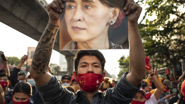 Myanmar leader Aung San Suu Kyi and others detained