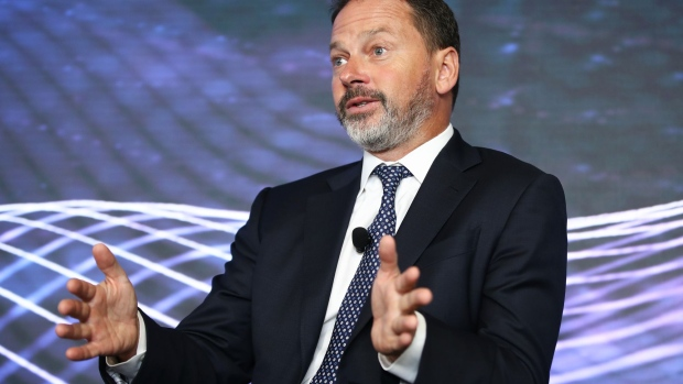 Robert Mead, managing director of PIMCO Australia Pty, speaks during the Bloomberg Invest conference in Sydney, Australia, on Wednesday, May 16, 2018.