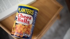 Planters Cheez Balls arranged in Hastings-On-Hudson, New York, U.S., on Wednesday, Feb. 3, 2021. Kraft Heinz Co. is nearing a deal to sell its Planters snack business to Skippy peanut butter owner Hormel Foods Corp., according to people familiar with the matter. Photographer: Tiffany Hagler-Geard/Bloomberg