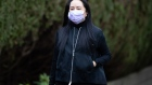 Meng Wanzhou leaves her home to attend Supreme Court in Vancouver, Canada, on Jan. 29. Photographer: Darryl Dyck/Bloomberg