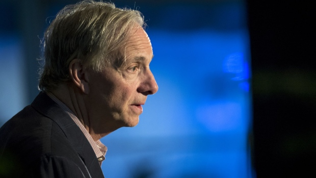Ray Dalio, billionaire and founder of Bridgewater Associates LP, speaks during the Bridge Forum in San Francisco, California, U.S., on Tuesday, April 16, 2019.