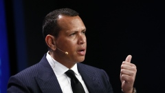 Alex Rodriguez, former professional baseball player, speaks during the Milken Institute Global Conference in Beverly Hills, California, U.S., on Tuesday, April 30, 2019. The conference brings together leaders in business, government, technology, philanthropy, academia, and the media to discuss actionable and collaborative solutions to some of the most important questions of our time.