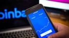 "The Coinbase application on a smartphone arranged in Hastings-on-Hudson, New York, U.S., on Monday, Jan. 4, 2021. Coinbase Inc. knew cryptocurrency XRP was a security rather than a commodity and ""illegally"" sold Ripple Labs Inc.'s tokens anyway, a customer argues in a proposed class-action lawsuit over the commissions the crypto exchange collected. Photographer: Tiffany Hagler-Geard/Bloomberg"
