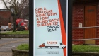 A Cazoo's digital advert seen displayed in London. Photographer: Dinendra Haria/SOPA Images/LightRocket/Getty Images