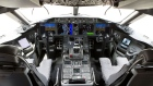 The cockpit of a Boeing Co. 787 Dreamliner. Photographer: Joshua Roberts/Bloomberg