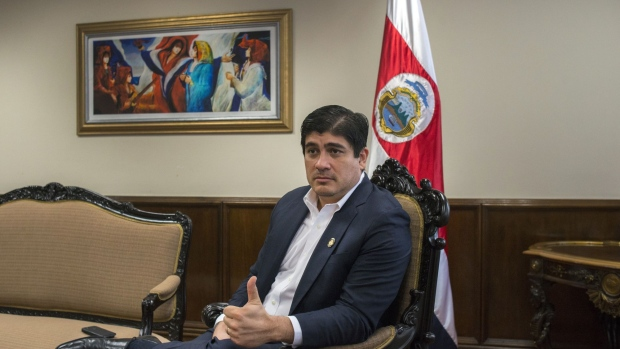 Costa Rica President Says Cutting the Deficit Will be His Legacy