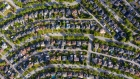 Residential homes stand in this aerial photograph taken above Burnaby, British Columbia, Canada, on Monday, June 3, 2019. The Canada Mortgage and Housing Corp. is scheduled to release housing starts figures on June 10. Photographer: SeongJoon Cho/Bloomberg
