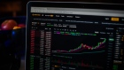 "The Binance Exchange website on a laptop computer arranged in Dobbs Ferry, New York, U.S., on Saturday, Feb. 20, 2021. Bitcoin has been battered by negative comments this week, with long-time skeptic and now Treasury Secretary Janet Yellen saying at a New York Times conference on Monday that the token is an ""extremely inefficient way of conducting transactions."" Photographer: Tiffany Hagler-Geard/Bloomberg"
