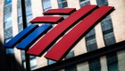 Bank of America Corp. signage is displayed at a branch in New York, U.S., on Sunday, July 12, 2020. Bank of America is scheduled to release earnings figures on July 16. Photographer: Jeenah Moon/Bloomberg